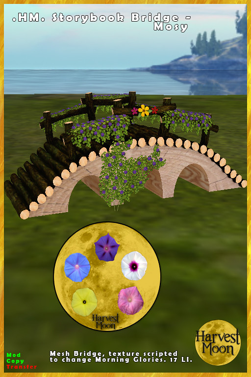Harvest Moon – Storybook Bridge – Mossy