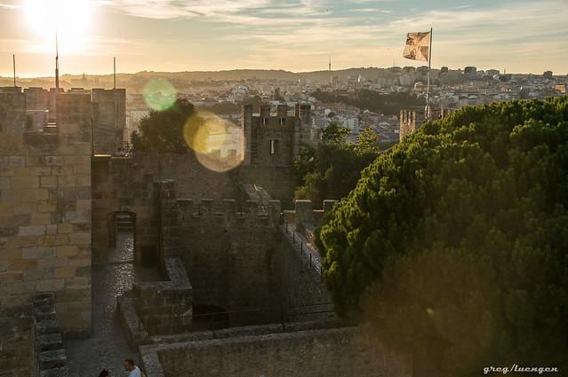 Portuguese summer sunset