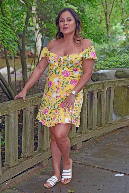 Picture Of Carolina Taken During A Photo Shoot At Brooklyn Botanic Gardens In Brooklyn New York. Photo Taken Sunday May 19, 2019