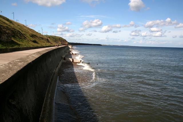 The coast near Seaham