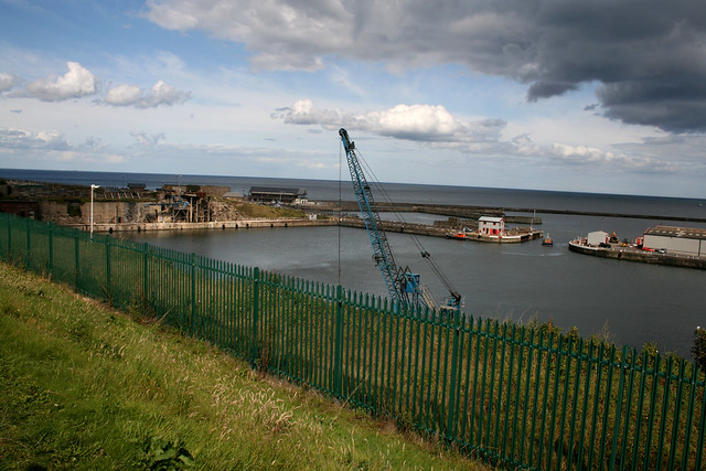 The harbour at Seaham