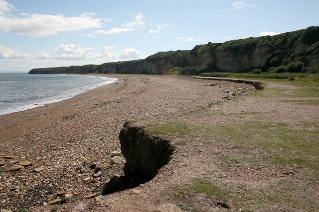 Beach south of Seaham