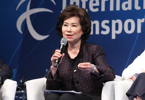 Elaine L. Chao emphasises that government is not an innovator