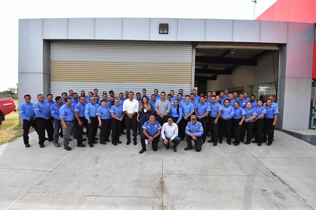 Brigada Forestal de Tlajomulco Recibe Camioneta y Equipamiento