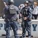 NYPD Counterterrorism Police Officers, Pier 86, New York City