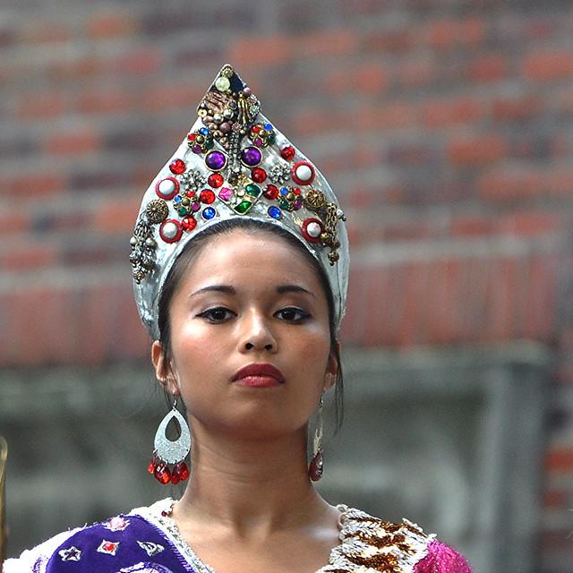 Portrait of an Asian Female Dancer