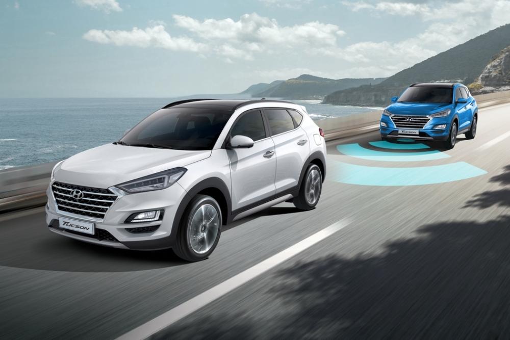 百萬內同級唯一配備SCC智慧型主動車距維持系統