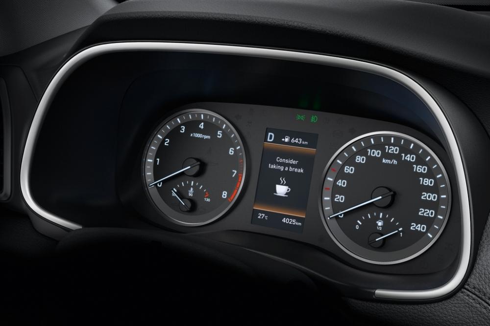 百萬內同級唯一配備DAW駕駛疲勞警示系統