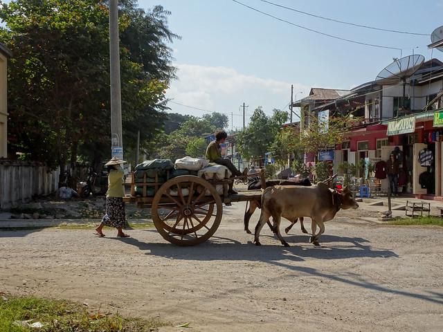 Rural life in Hsipaw, Myanmar