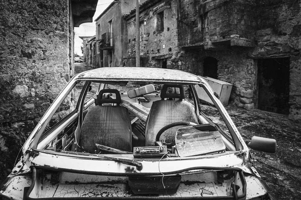 Dilapidated Car