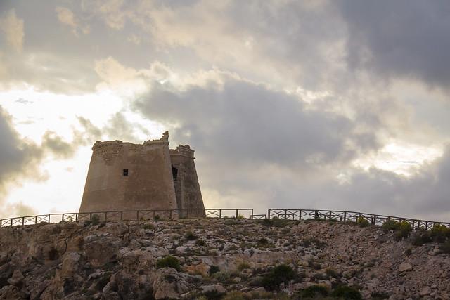 Spain - Almeria - Carboneras - Mesa Roldan Tower