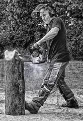 Modern day lumberjack.