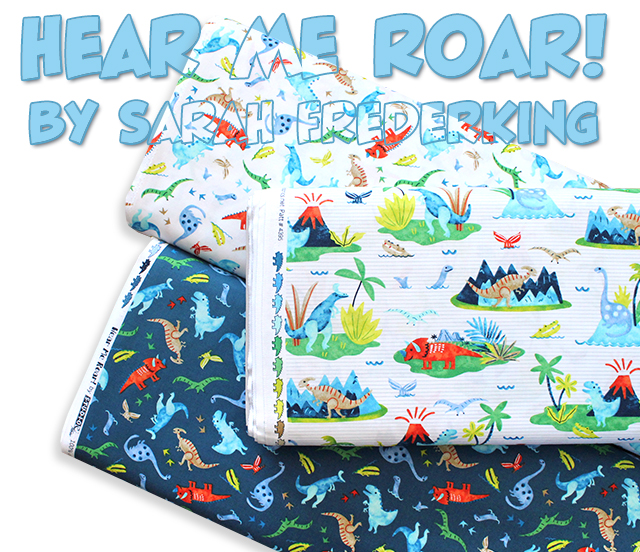 Studio E Fabrics Hear Me Roar!
