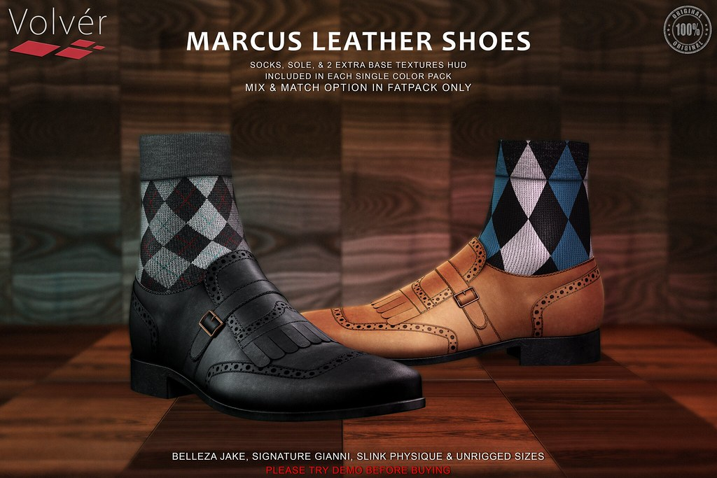 Volver – Marcus Shoes @ Mens Only Monthly (MOM)