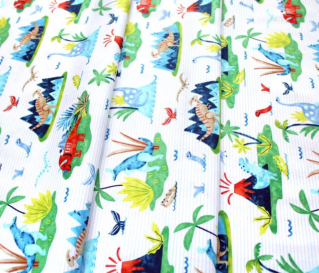 Studio E Fabrics Hear Me Roar! 4395-1 Scenic White