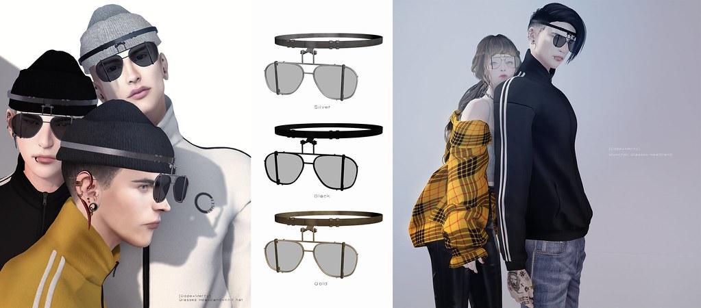[Dope+Mercy] Munchen Glasses Headband