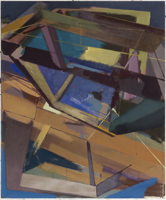 Dispar II,, 120x100 cm, Eitempera-Öl/Pigmente, 2019