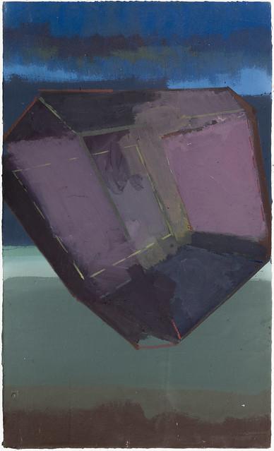 Jewel (Kamur), 50x30 cm, Eitempera-Öl/Pigmente, 2019