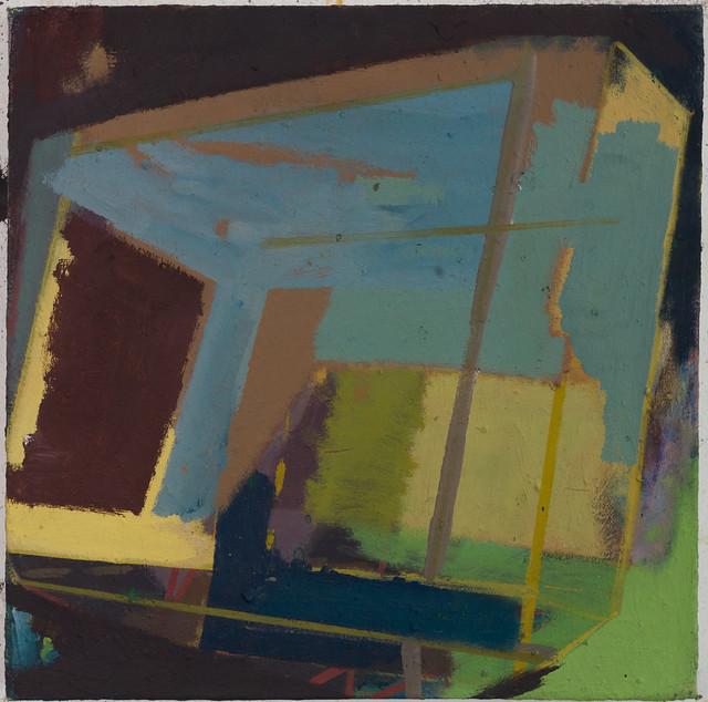 Pentugit, 30x30 cm, Eitempera-Öl/Pigmente, 2019
