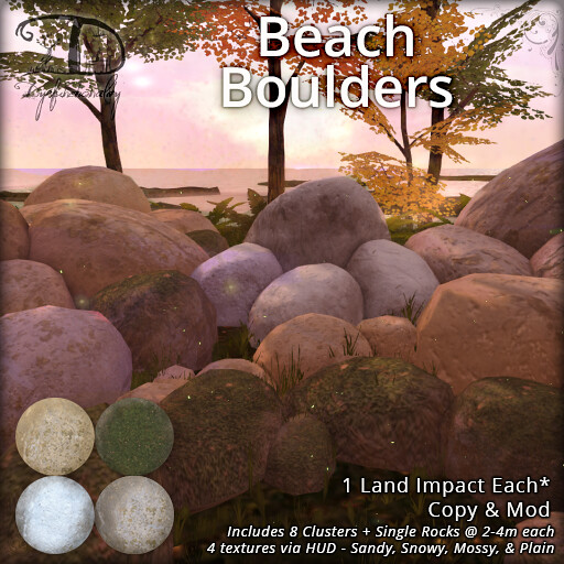 Beach Boulders for FLF 5/24