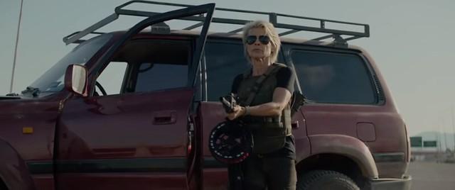 Terminator Dark Fate - Badass Shotgun - Linda Hamilton