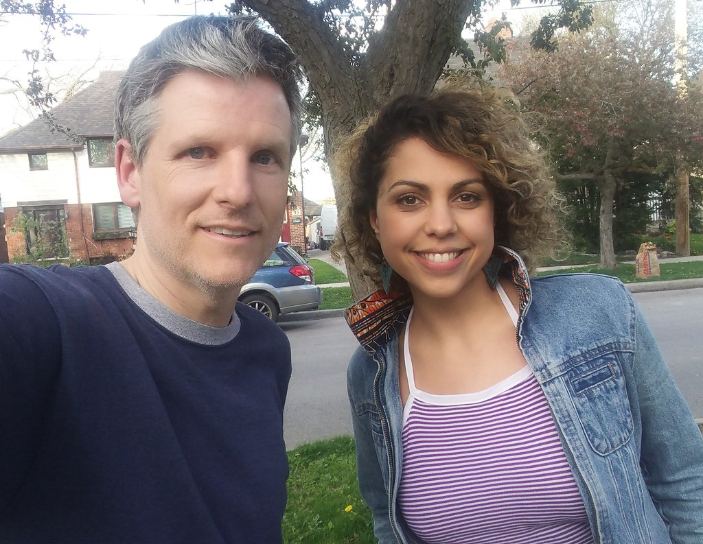 Jess Salgueiro and me