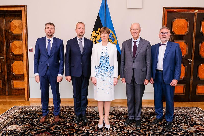 WIPO Director General Meets Estonia President
