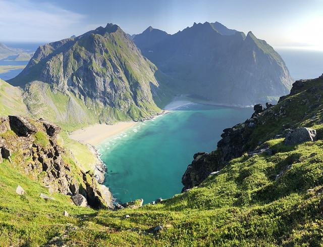 Paisaje de las islas Lofoten (Noruega)
