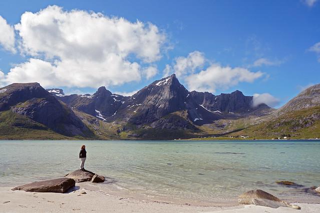 Paisajes de las islas Lofoten (Noruega)