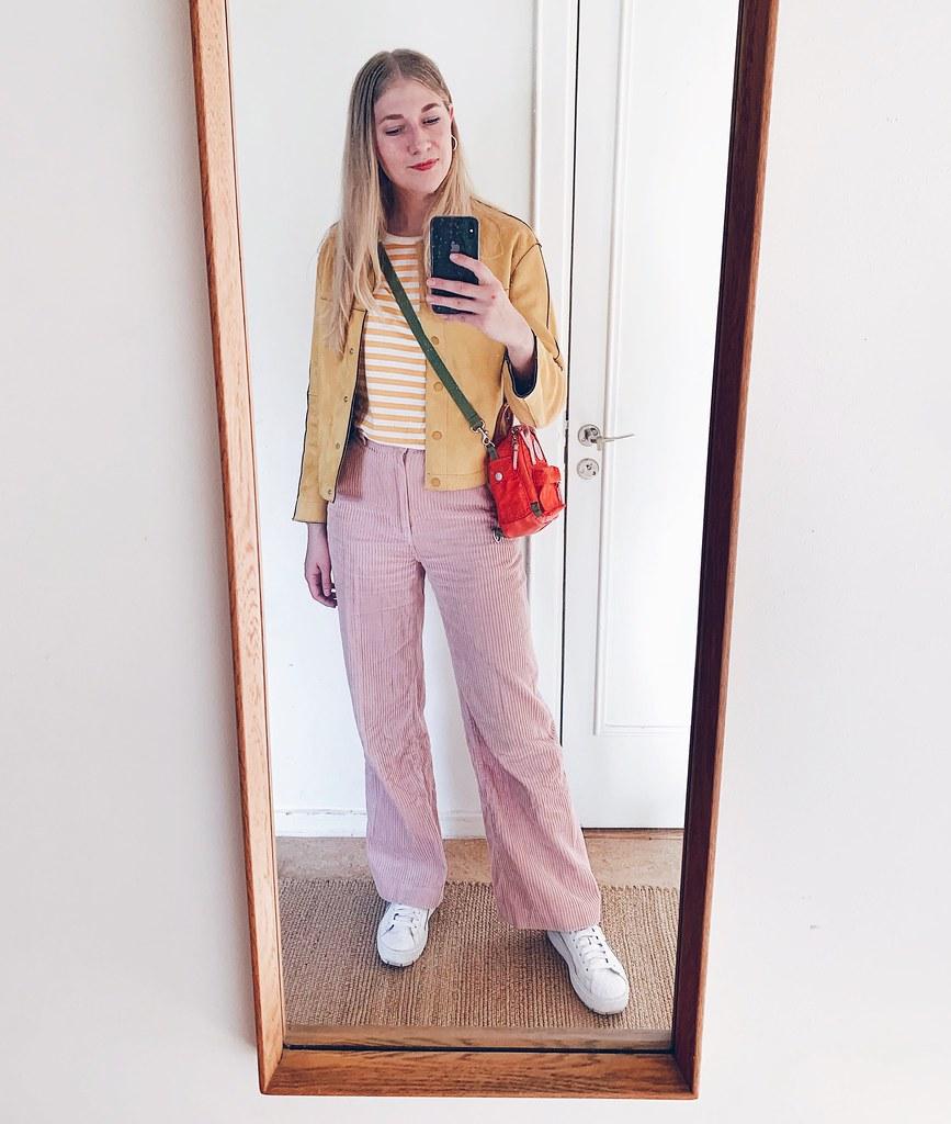 gult & rosa