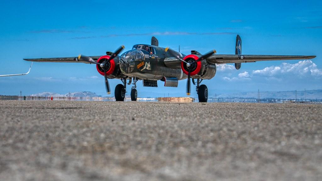 B-25 @ Moffett Field