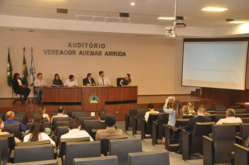 Audiência Pública destinado a debater a Operação Urbana Consorciada - Aguanambi. 22.05.2019