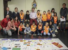 Foto de familia de todas las personas que han participado en la segunda edición del proyecto.