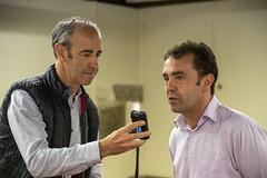 El alcalde Juan Carlos Abascal, en declaraciones a Cadena Ser - Radio Eibar.