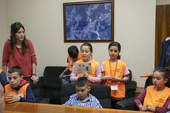 El Consejo se reúne en el despacho del Alcalde para presentar sus propuestas.