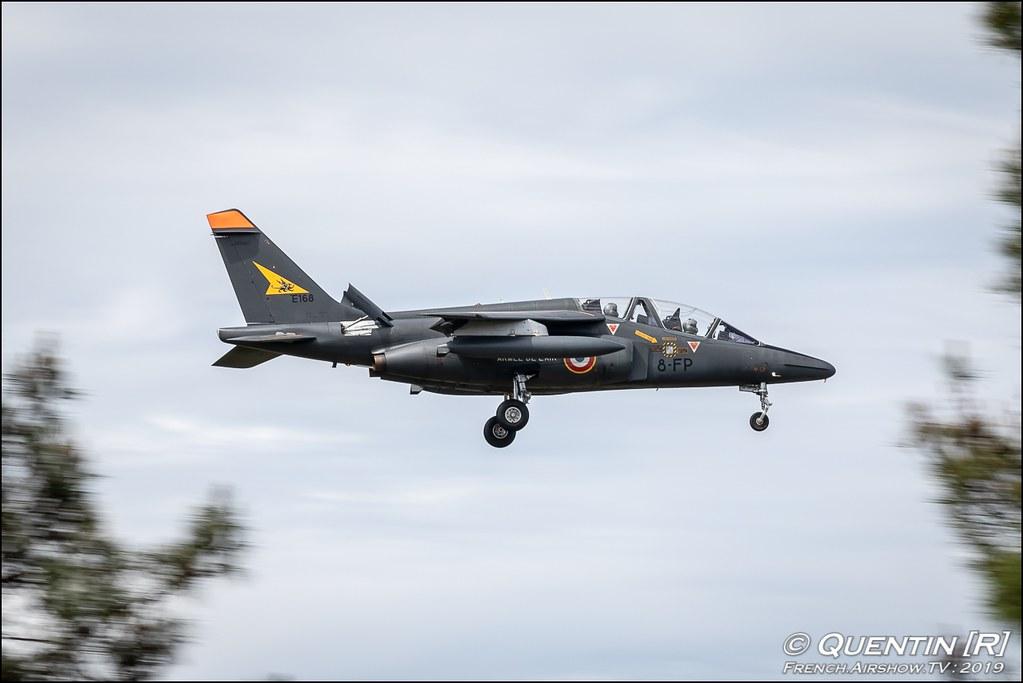 Alphajet Escadron d'Entraînement 3/8 Cote-d'Or French Air Force Nato Tiger Meet 2019 BA118 de Mont de Marsan Canon Sigma France French Airshow TV photography Airshow NTM 2019