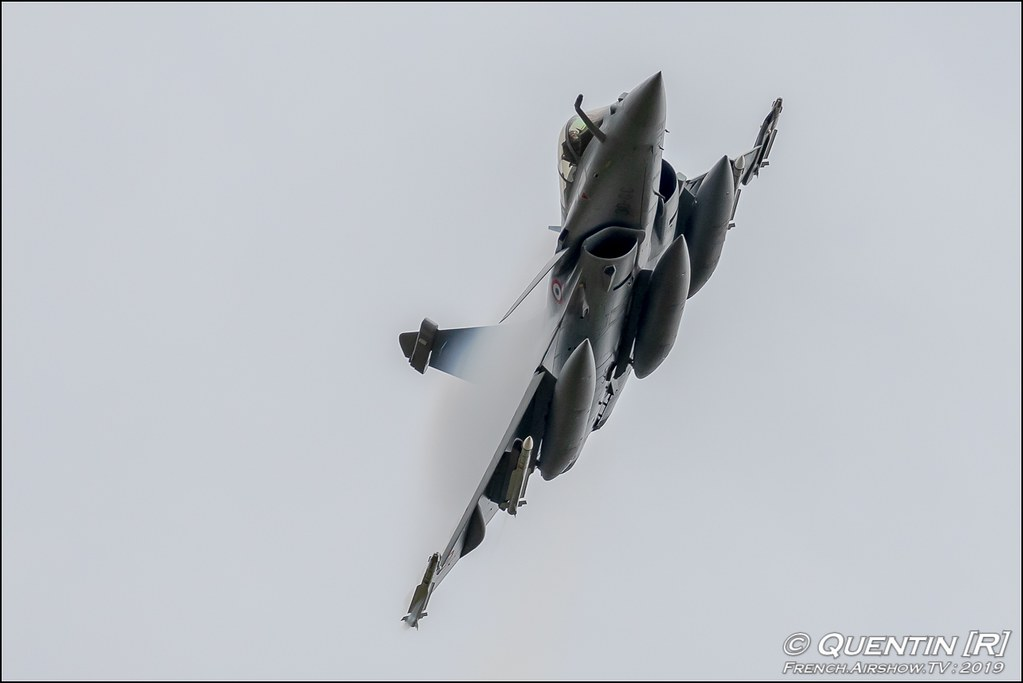 Rafale Tactical Display Escadron de Chasse 3/30 Lorraine Nato Tiger Meet 2019 BA118 de Mont de Marsan Canon Sigma France French Airshow TV photography Airshow NTM 2019