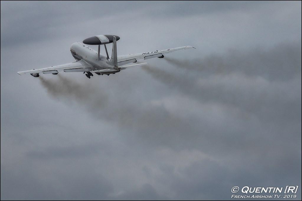 E-3A Sentry Flying Squadron 1 NATO Nato Tiger Meet 2019 BA118 de Mont de Marsan Canon Sigma France French Airshow TV photography Airshow NTM 2019
