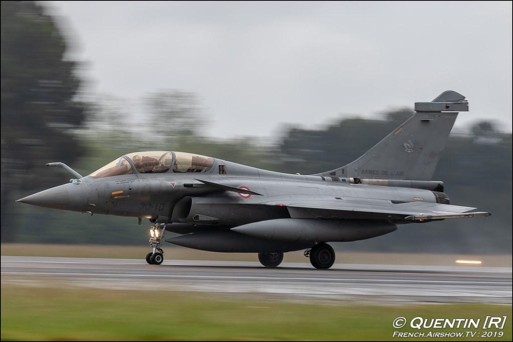 Rafale C/B Escadron de Chasse 3/30 Lorraine French Air Force Nato Tiger Meet 2019 BA118 de Mont de Marsan Canon Sigma France French Airshow TV photography Airshow NTM 2019