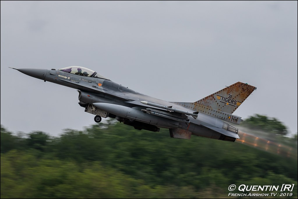 F-16A/B MLU Fighting Falcon 31 smaldeel Belgian Air Force Nato Tiger Meet 2019 BA118 de Mont de Marsan Canon Sigma France French Airshow TV photography Airshow NTM 2019