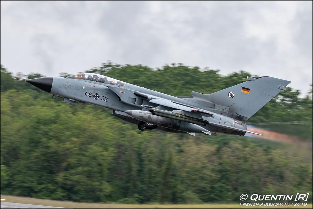 Tornado ECR Taktisches Luftwaffengeschwader 51 Immelmann German Air Force Nato Tiger Meet 2019 BA118 de Mont de Marsan Canon Sigma France French Airshow TV photography Airshow NTM 2019