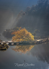 Cataract Gorge Autumn Mist