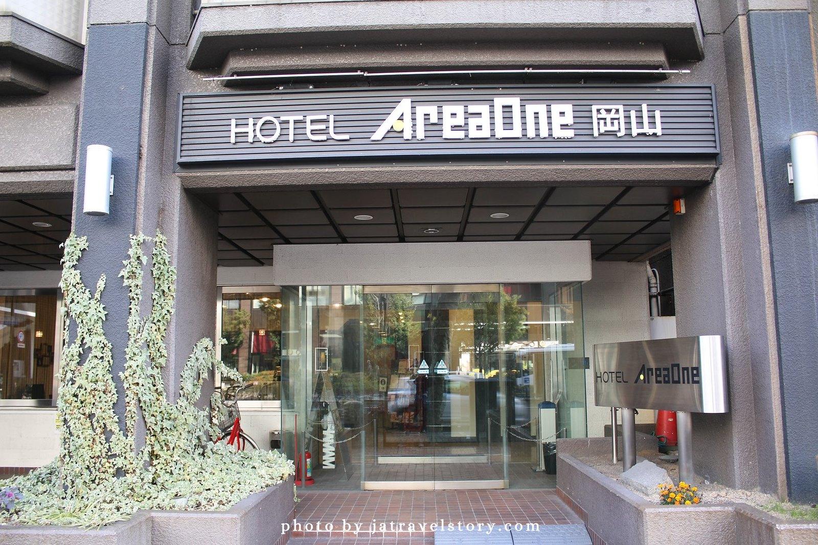 【日本岡山住宿】岡山AreaOne飯店 對面就是Aeon和超市,離岡山車站近的平價飯店。Area One Okayama Hotel @J&A的旅行