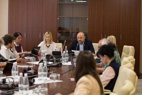 """23.05.2019 Masa rotundă """"Provocări în implementarea Legii apelor"""""""