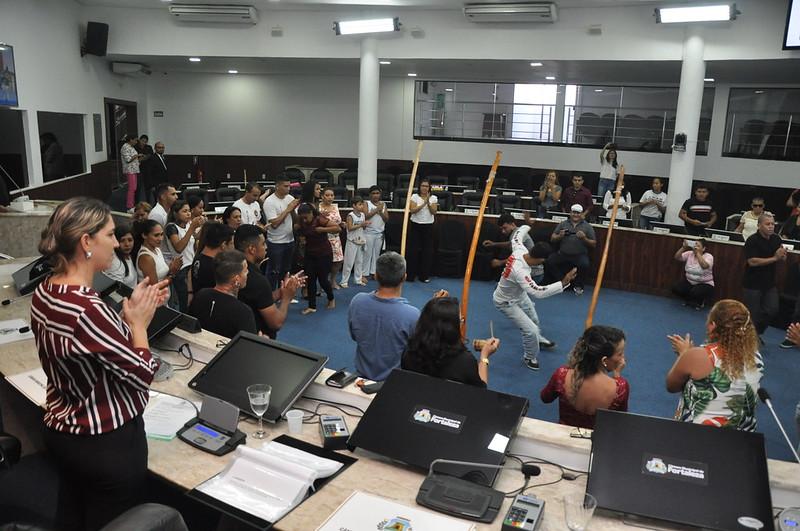 Sessão Solene em homenagem aos capoeiristas fortalezenses (23.05.2019)