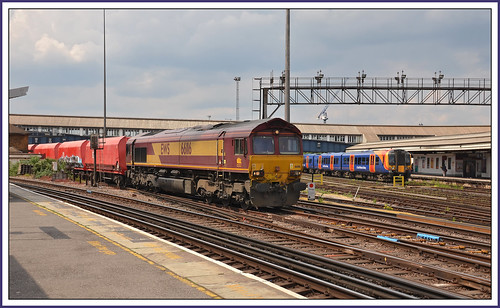Monday 20th May 2019 London Clapham Junction 66116