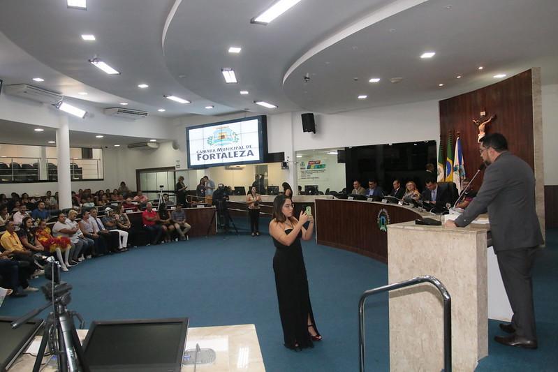 Sessão Solene em comemoração aos 10 anos das quadrilhas juninas Cumpade Chico e Luar Nordestino; 30 anos da quadrilha junina Buscapé e 35 anos da quadrilha junina Tongil (23.05.2019)