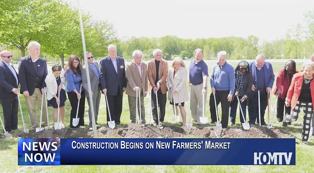 New Farmers' Market Groundbreaking Ceremony