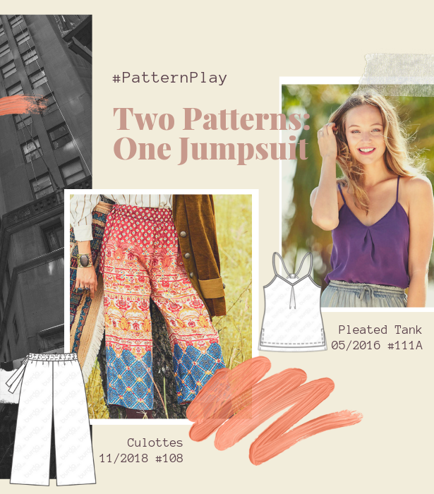 Pattern Play Jumpsuit PATTERNS