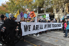 Melbourne solidarity rally for global #climatestrike - We are all in this together - IMG_4633